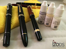 3 Step Pen Polish and Scratch Removal for Montblanc - Resin, Celluloid and Metal