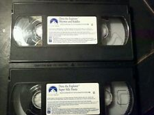 Dora the explorer 2 vhs video tapes