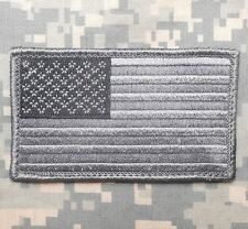 USA FLAG TACTICAL MORALE MILITARY BADGE ACU DARK VELCRO® BRAND FASTENER PATCH