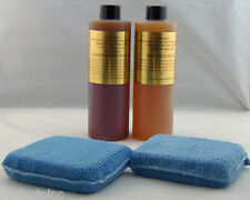 LEATHERIQUE LEATHER RESTORATION REJUVENATOR OIL PRESTINE CLEAN 16OZ. APP PADS