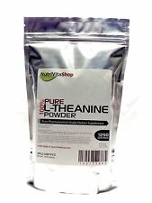 250 SERVINGS L-THEANINE 100% PURE POWDER USP GRADE ENERGY STRESS ANXIETY MOOD 50