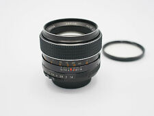 Chinon Tomioka 55mm F1.4 M42 Lens - Nice Condition, Perfect Glass
