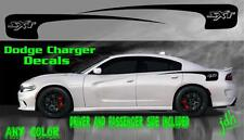 2011-2016 Dodge Charger Sxt Vinyl Decal Rear Spear Graphic Racing Stripe Car