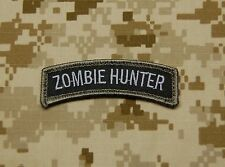 ZOMBIE HUNTER Tab Patch SWAT Morale Patch VELCRO® Brand Hook & Loop