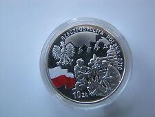 10 zł. 100 rocznica Harcerstwa Polskiego  14,2 grama Ag 925