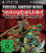 Playstation 3 Spiel: TMNT PS-3 Mutanten in Manhatten Teenage Mutant Neu & OVP