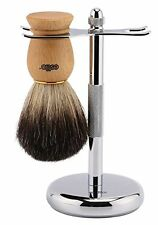 Estilo Pure Badger Hair Shaving Brush with Beech Wooden Handle , 1.6 Ounce