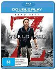 World War Z (Blu-ray, 2013, 2-Disc Set)