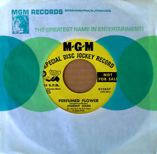 JOHNNY NASH - PERFUMED FLOWER b/w AMEN - MGM 45 - YELLOW LABEL PROMO