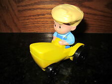 Fisher Price Little People NEW Apptivity Barnyard part farm Eddie Tractor boy