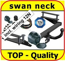 Towbar & Electric 13 pin Vauxhall Vectra B Estate Saloon 1995 to 2002 swan neck