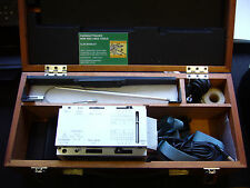 Taylor Hobson Surgraphic Chart Recorder / Printer W/ Wood Case and Cables   1271