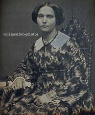 1/9 Platte Daguerreotypie. Junge Dame, G.W.P. von 1856