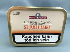 Samuel gawith st. James flake pipas de tabaco 50 gramos original Perique + Virginia