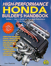 Honda Performance Handbook Civic Accord Del Sol CRX Prelude 1988-1994 1995 1996