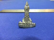 vtg badge blackpool tower souvenir tourist tourism music entertainment 1900s