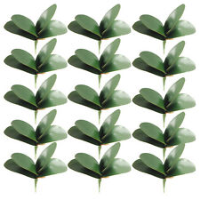 Artificial Green Plant Leaves/Butterfly Orchid Silk Leaf Plant Home Garden Decor
