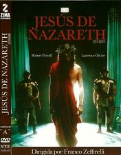 JESUS OF NAZARETH NEW DVD