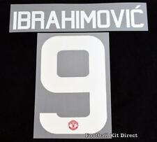 Manchester United Ibrahimovic 9 16/17 Europa/FA Cup football shirt Name set home