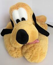 Disney Parks Pluto Large Laying Down Soft Floppy Plush Stuffed Animal 20""