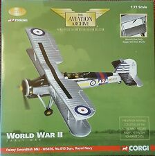 Corgi Aviation Fairey Swordfish Mk.I W5856, Royal Navy HMS Ark Royal AA36302 NEW