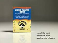 Mind Power Deck by John Kennedy (Red Bicycle Back) Incredible Top Pro Mentalism!