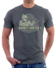 Boba fett & fils bounty hunter star wars anthracite small t-shirt en coton 9823