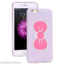 3D Cute Butterfly Bow Silicone Kick Stand Case Cover for iPhone 5 5S 6 6P