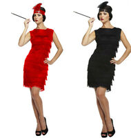 ADULT LADIES FLAPPER 1920s 20's CHARLESTON GREAT GATSBY FANCY DRESS COSTUME NEW