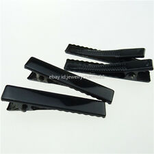 50PCS Iron Black Hair Alligator Clip Hair Barrettes for Hair Accessory Making