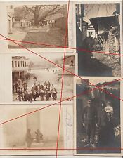 7 x AK 1 wk IWW strumica Demir Hisar Macédoine turcs population 1917! (f1926