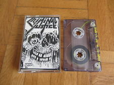CRIMINAL JUSTICE Burning The Infidel RARE 1988 DEMO Cassette Tape Thrash Metal