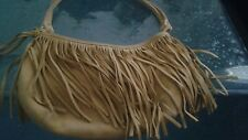 AMERICAN EAGLE OUTFITTERS SUEDE FRINGED HANDBAG