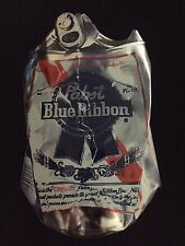 Pabst Blue Ribbon Crushed Can Sticker