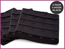 BH Verlängerung - 4 Haken (75mm) - 3 x Schwarz