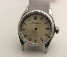 Rolex Midsize Stainless Model 6548 ,6549 Oyster Perpetual Case & Dial Circa 1968