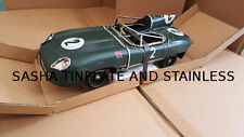 JAGUAR XKSS tin plate car handmade replica vintage metal model blechmodell