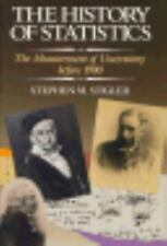 The History of Statistics: The Measurement of Uncertainty before 1900, , Stigler