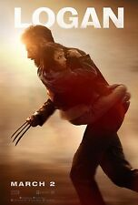 Logan Movie Poster (24x36) - Wolverine, Hugh Jackman, Doris Morgado v2