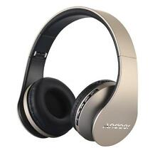 Andoer LH-811 Digital 4in1 Wireless Stereo Bluetooth Headphone MP3 MicroSD I0P4