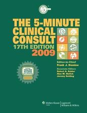 The 5-Minute Clinical Consult 2009, Book and Website (The 5-Minute Con-ExLibrary