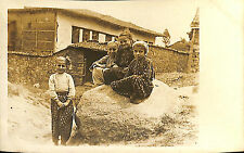 GRECE GREECE CARTE POSTALE PHOTO MACEDOINE MACEDONIA ENFANTS 1918 ?