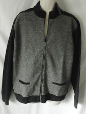 NEW Ralph Lauren Mens Polo Golf Grey Black Zip L/S Casual Jacket XL RRP £150