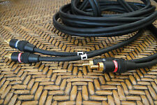Monster Cable Interlink Shielded  RCA Connection  Audio Interconnects Cable 4m