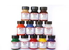 Angelus Acrylic Leather Paint Starter Kit - 1 Ounce, Set of 12, Multicolor