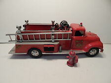 1950's TONKA TOYS STEEL #5 SUBURBAN PUMPER FIRE TRUCK WITH ALL PARTS!
