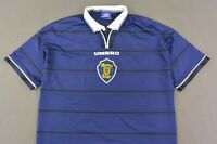 1998-00 UMBRO Scotland Home Shirt World Cup France '98  SIZE XL (adults)
