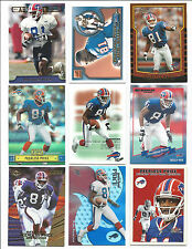 Lot of 32 Different Peerless Price Cards 1999-2004; NM-Mint; Buffalo Bills