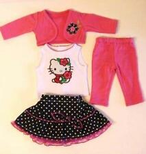 "HELLO KITTY CAT  OUTFIT ~ For 18"" American Girl Doll 4PC: Top Skirt Jacket ++"