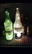 TPWTS Heineken Corona Beer Bottle LED Lamp Battery Powered on/off switch